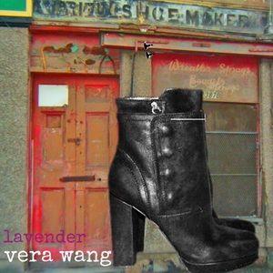 "Vera Wang Lavender ""Marilyn"" Leather Booties"